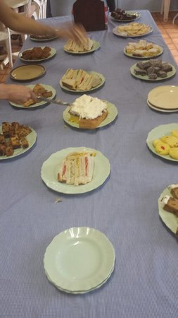 1 Day Wave Rock tour - Pinnacle Tours: What was served for tea at Babakin