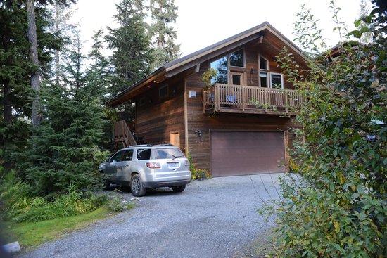 Alpine Aria Chalet Bed and Breakfast: L'appartement au dessus du garage