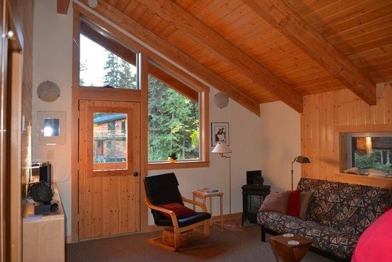 Alpine Aria Chalet Bed and Breakfast: Salon