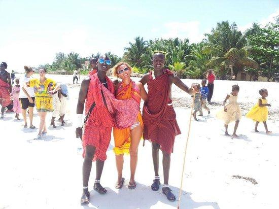 Waridi Beach Resort & Spa : i miei grandi amici
