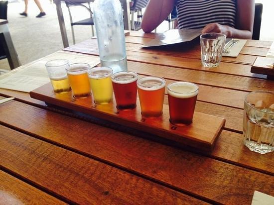 Eagle Bay Brewing Co: original, la degustation de bieres