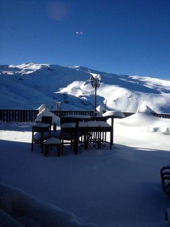 Vincci Selección Rumaykiyya: view from restaurant