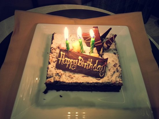 Delicious Birthday Cake Sent To The Room Picture Of Eastin Grand - Real birthday cake images