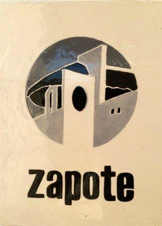 Mi Casa en Cozumel: Zapote Suite signage