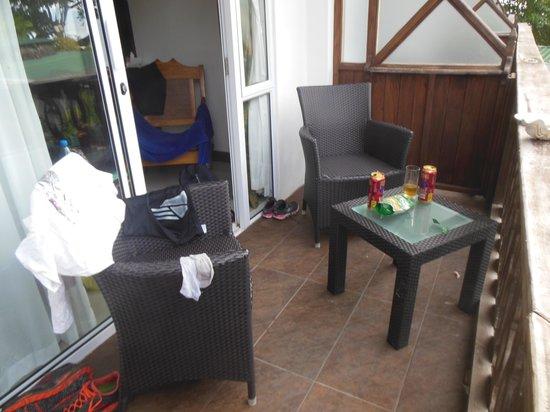 Augerine Guest House : le balcon
