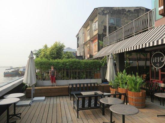 Baan Wanglang Riverside: de la terrasse du café