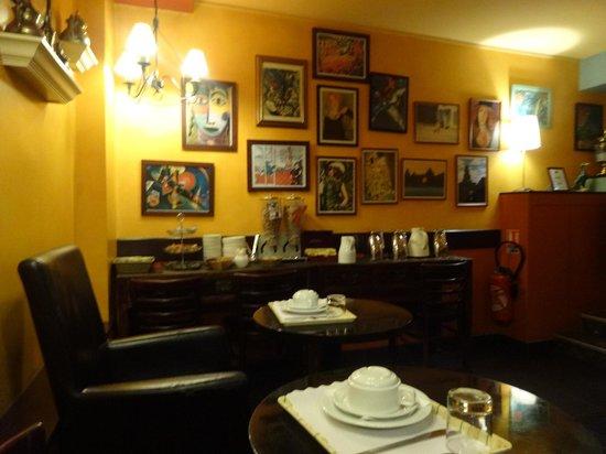 Hotel Monte Carlo : Breakfast room 2