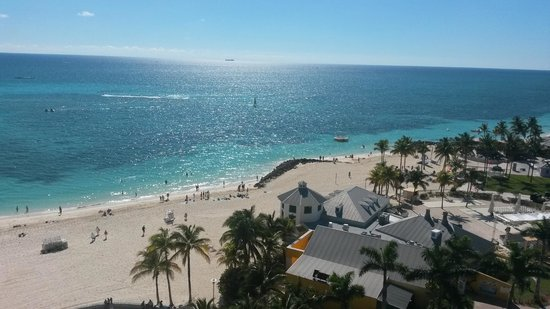 Grand Lucayan, Bahamas: View from the balcony of my room.