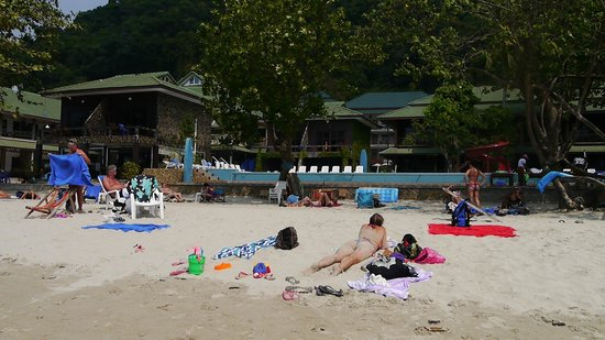 Koh Chang Lagoon Resort: Пляж