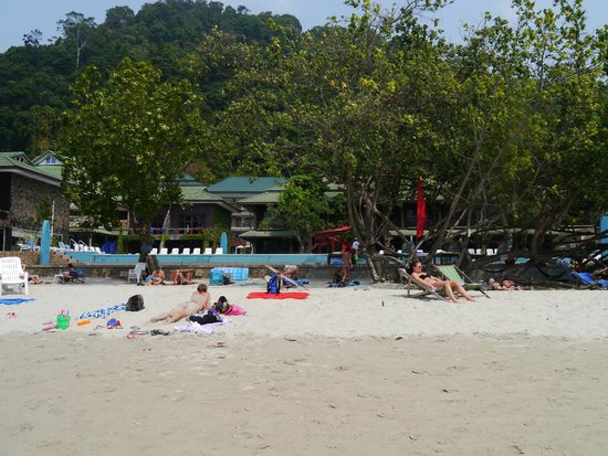 Koh Chang Lagoon Resort: Пляж