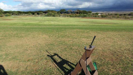 Maui Nui Golf Club : Driving Range