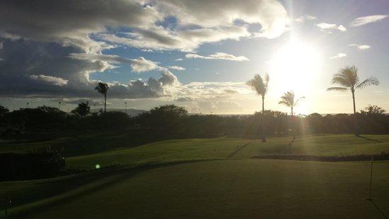 Maui Nui Golf Club : Main Golf Course landscape