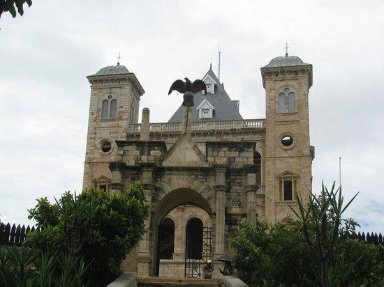 Rova - Le Palais de la Reine : Entrance