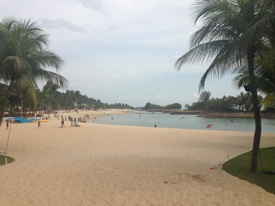 Shangri-La's Rasa Sentosa Resort & Spa: The beach