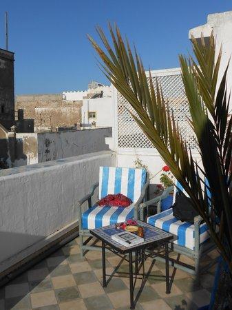Riad Al Madina : il mio angolo preferito in terrazza
