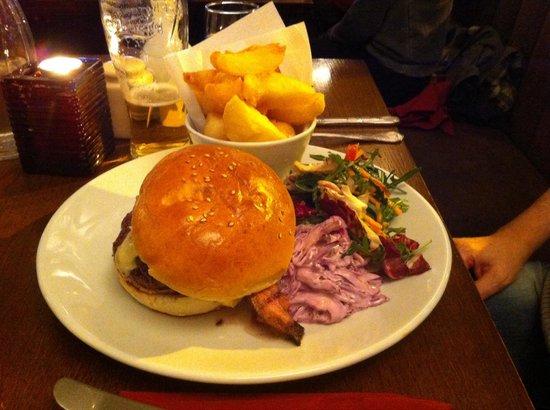 The Lamb Inn : Burger
