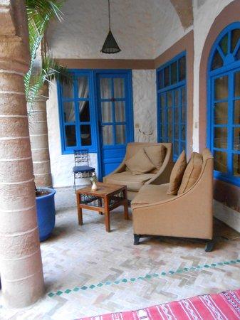 Riad Al Madina : angolo relax