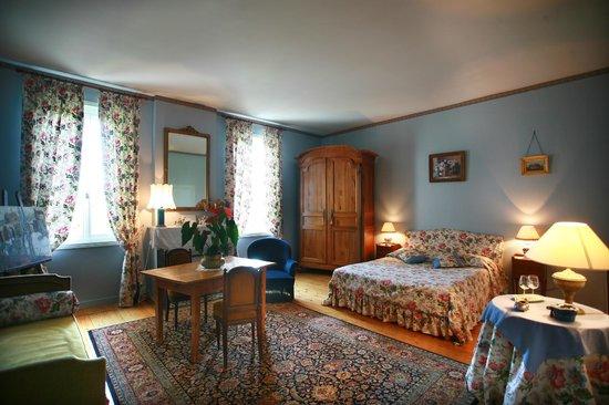 Chateau Le Baudou: chambre Marie-Antoinette