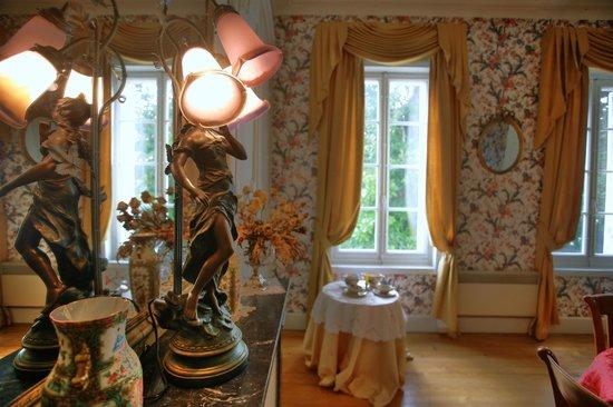Chateau Le Baudou: salle à manger