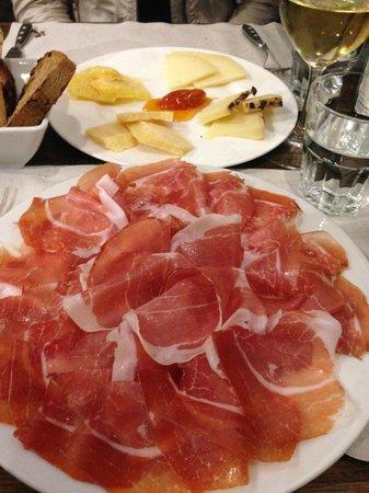 Beppe e I Suoi Formaggi: our lunch