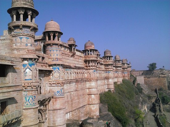 Gwalior: FORT WITH BLUE TILES