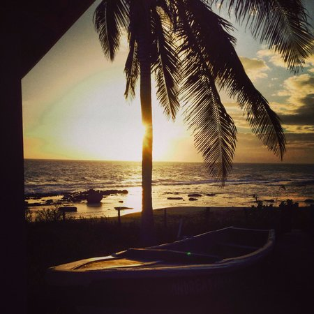Marblue Villa Suites : Sunset view at the restraunt