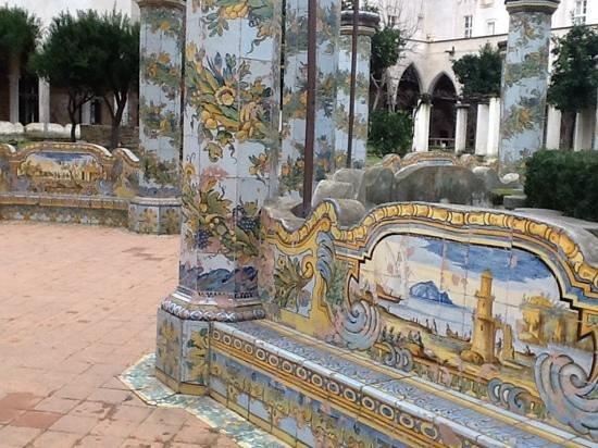 Risultati immagini per monastero di santa chiara a napoli