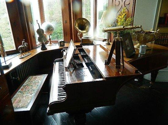 Chateau Rhianfa: The music room