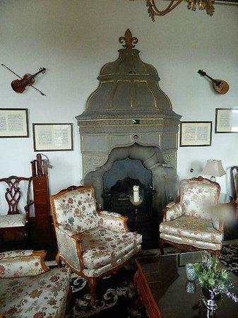 Chateau Rhianfa: One of the many lounge areas