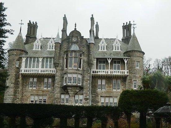 Chateau Rhianfa: The rear of the hotel