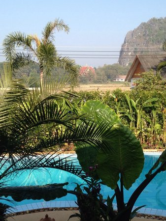 Homestay-Chiang Rai: The view from the restaurant in the morning