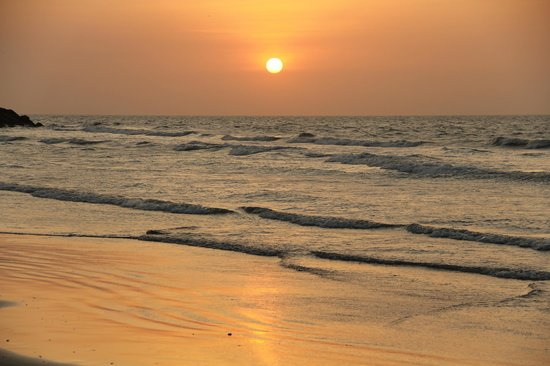 Holiday Inn Cartagena Morros: Le couché du soleil