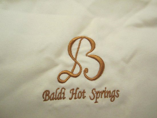 Baldi Hot Springs Hotel Resort & Spa: Napkin