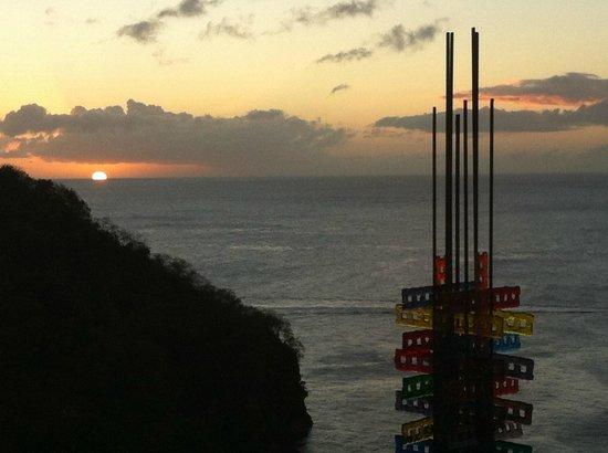 Jade Mountain Resort : Sunset