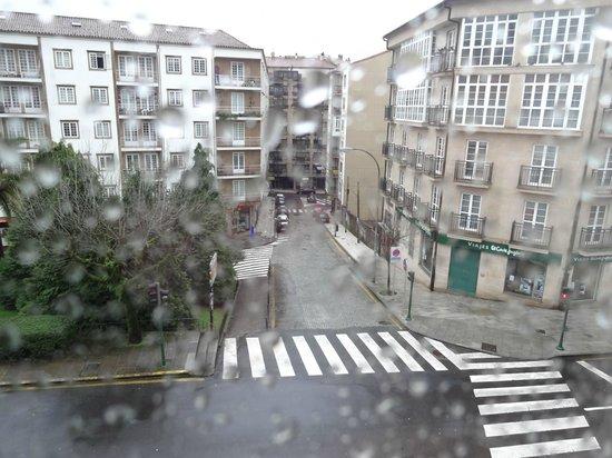 Hotel Herradura: Vista da janela do quarto - dia