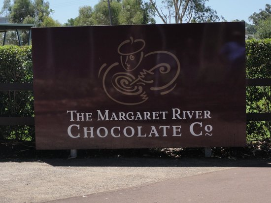 Margaret River Chocolate Company: Sign