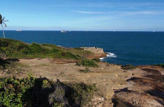 Forte Castelo do Mar ruins: Ruínas do Forte