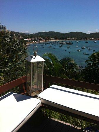 Vila D'este: Vista da Piscina