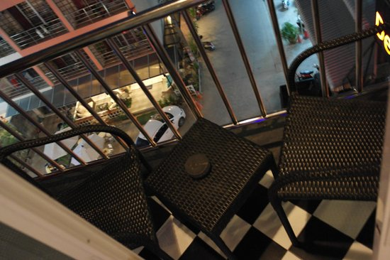 De coze' Hotel: petit balcon