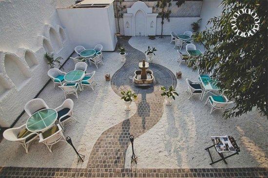 Virgin Courtyard