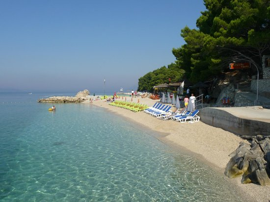 "Apartments Prva maslina : Beach at ""Southern Comfort"""