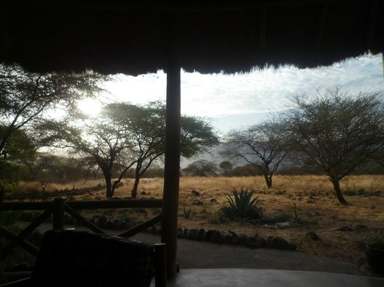 Ol Mesera Tented Camp: The view from the dining area