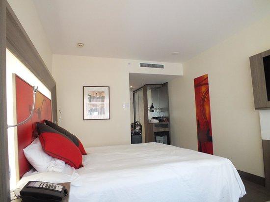 Novotel Wellington: Our Room