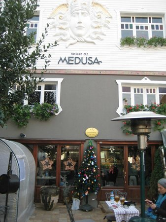 House of Medusa, exterior
