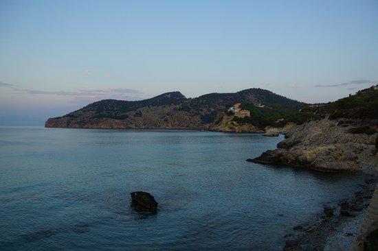 Cabau Bahia Camp de Mar Suites: Вид из номера
