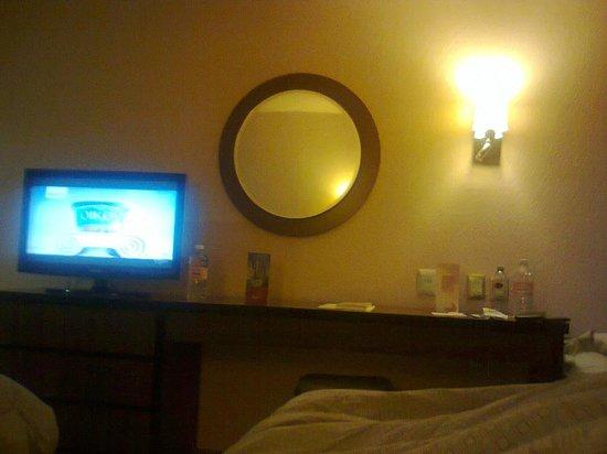 Hotel Real Plaza: Interior del cuarto