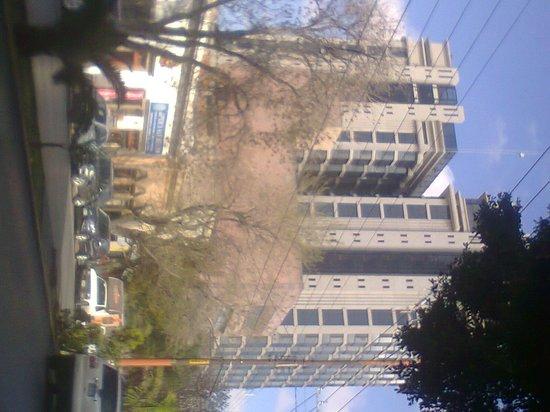 Hotel Real Plaza: Vista desde la calle Carranza