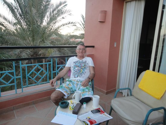 TUI Magic Life Sharm el Sheikh: our lush balcony