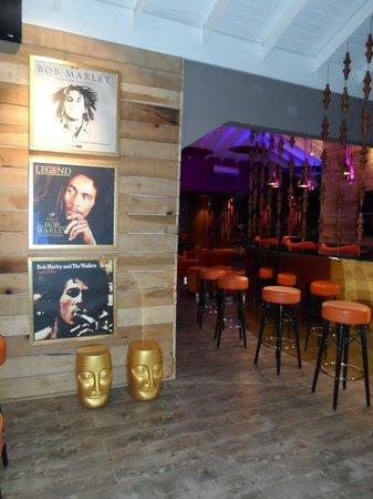 Azul Beach Resort Sensatori Jamaica by Karisma  Bob Marley themed Nesta  Rasta Lounge. Beautiful decor in the Garfield restaurant   Picture of Azul Beach