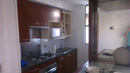 Apart Urbano Bellas Artes: Cocina